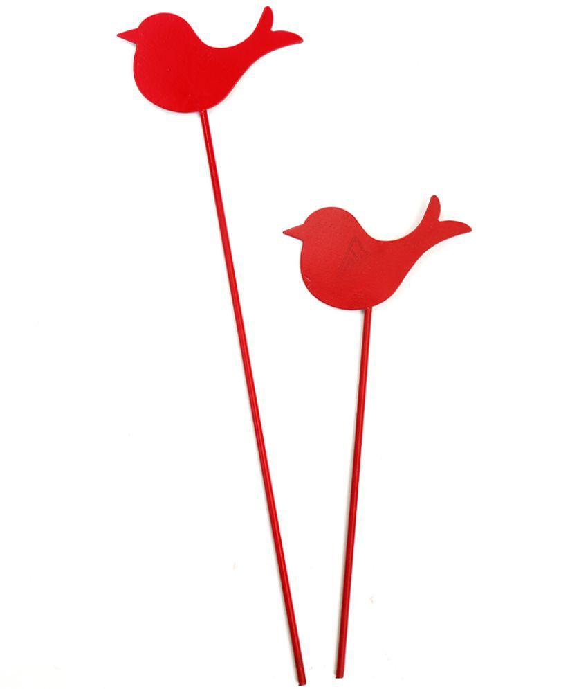 Deziworkz Bird Garden Stick/Stake(7 ...