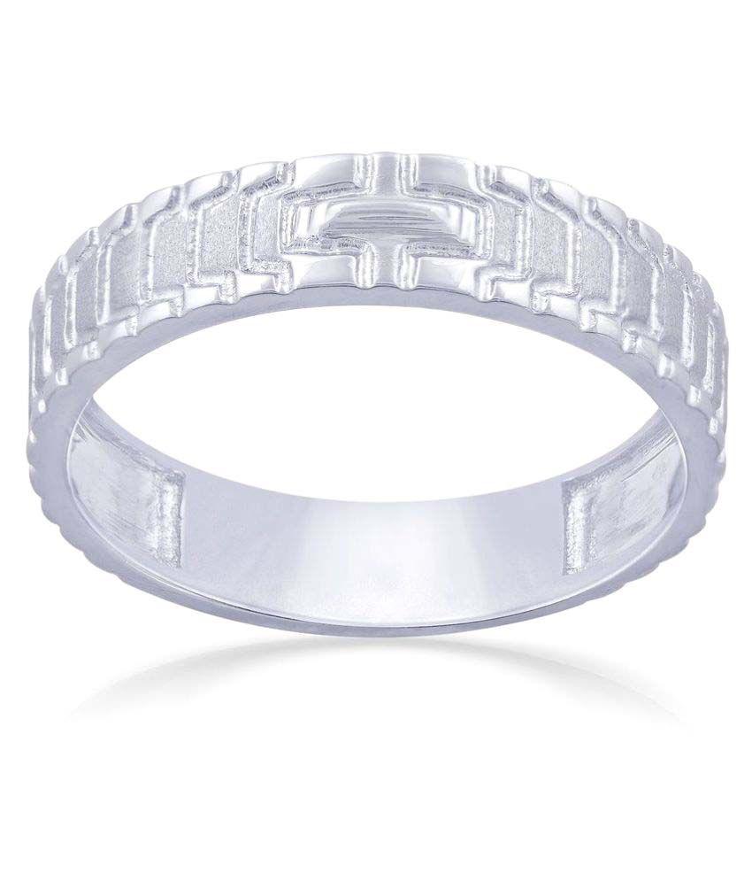Malabar Gold and Diamonds 950Pt Gold Ring