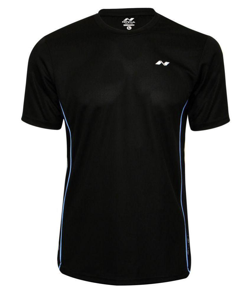 Nivia Running Fitness Tee-2216s-5