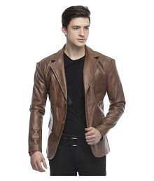 e91ede7abcf Leather Mens Jackets  Buy Leather Mens Jackets Online at Low Prices ...