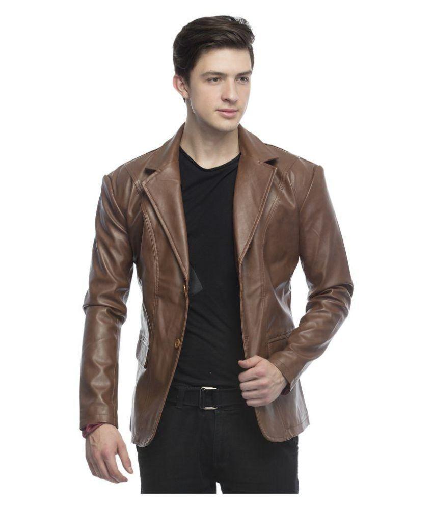 Lambency Brown Casual Jacket - Buy Lambency Brown Casual Jacket ...