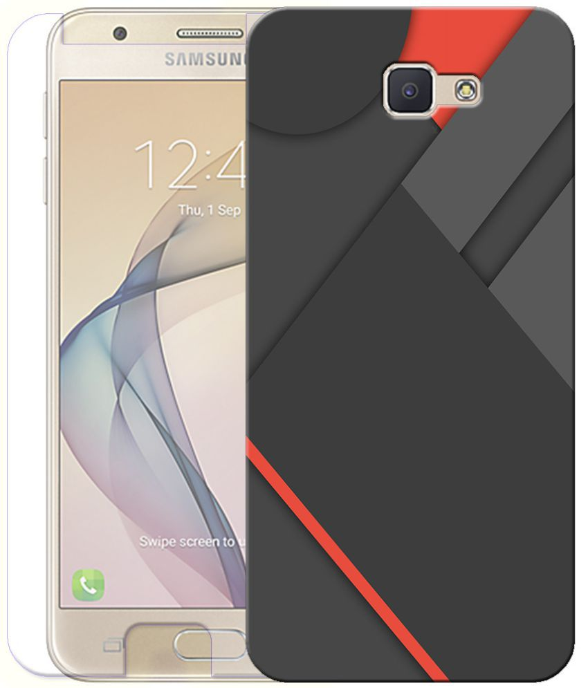 Samsung Galaxy J7 Prime Cover Combo by Indiashopers