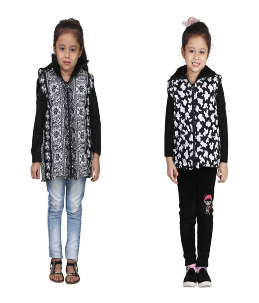 Crazeis Multicolour Jackets - Pack of 2