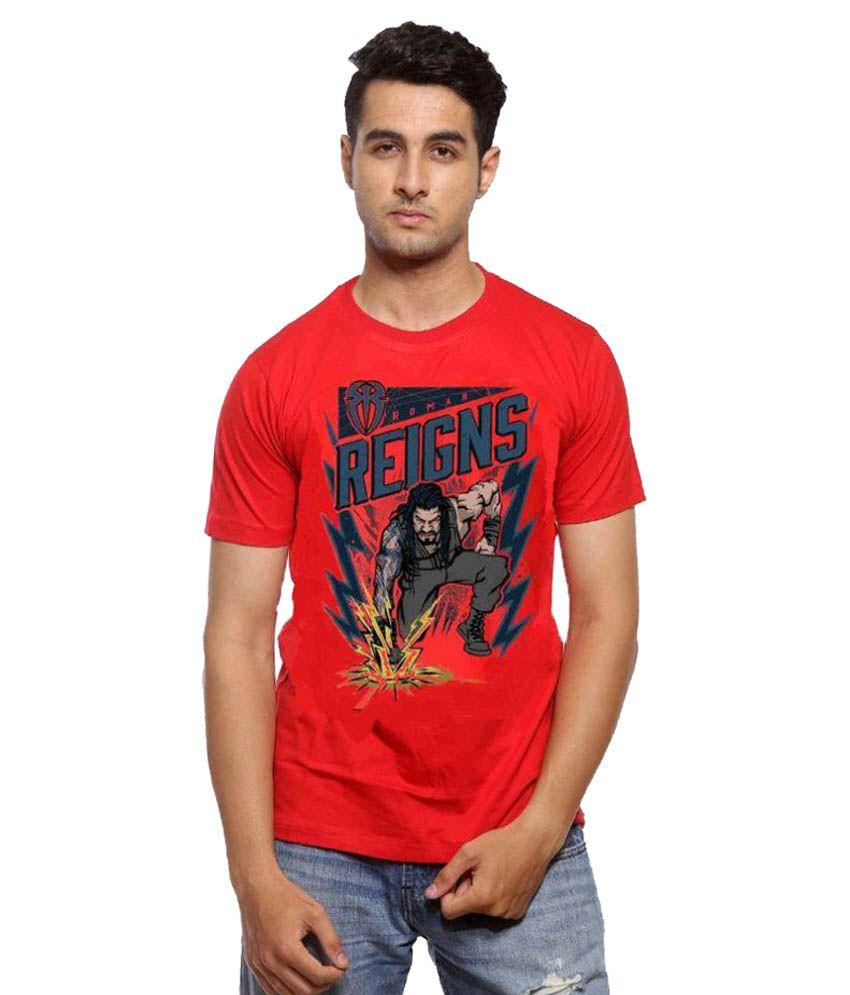 Astyler Red Round T-Shirt