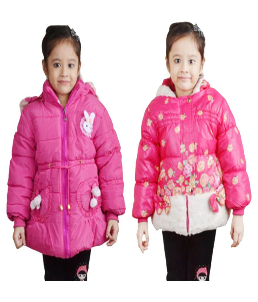 Crazeis Pink Jackets - Pack of 2