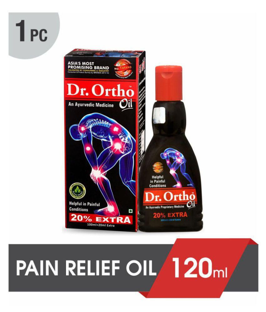 Dr Ortho Joint Pain Relief Oil 120 ml - Ayurvedic