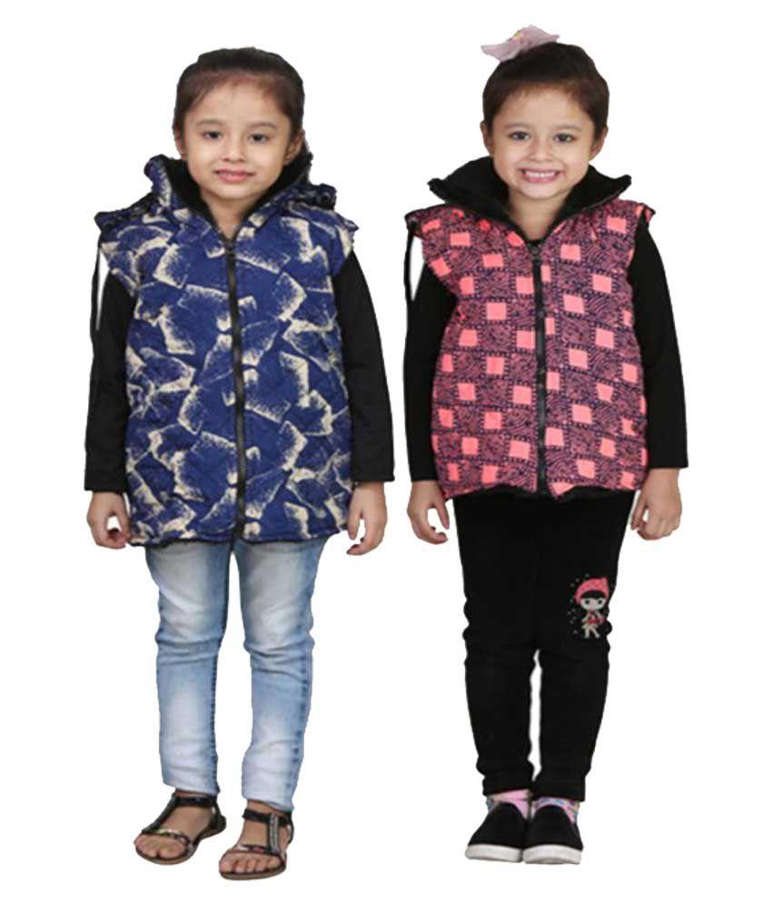 Crazies Combo Of Half Jacket For Girl's