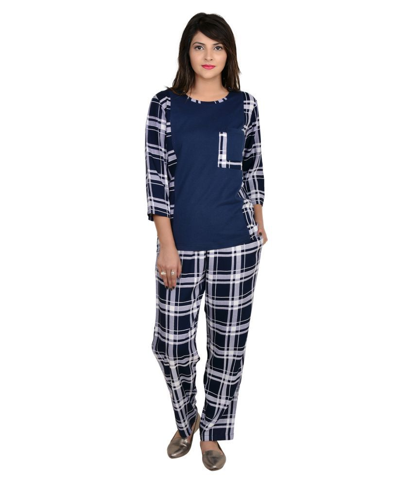 9teenAGAIN Cotton Nightsuit Sets Price in India  cb1f29db1
