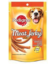 Pedigree Dog Treats - Meat Jerky Stix, Smoked Salmon, 60 Gm Pouch