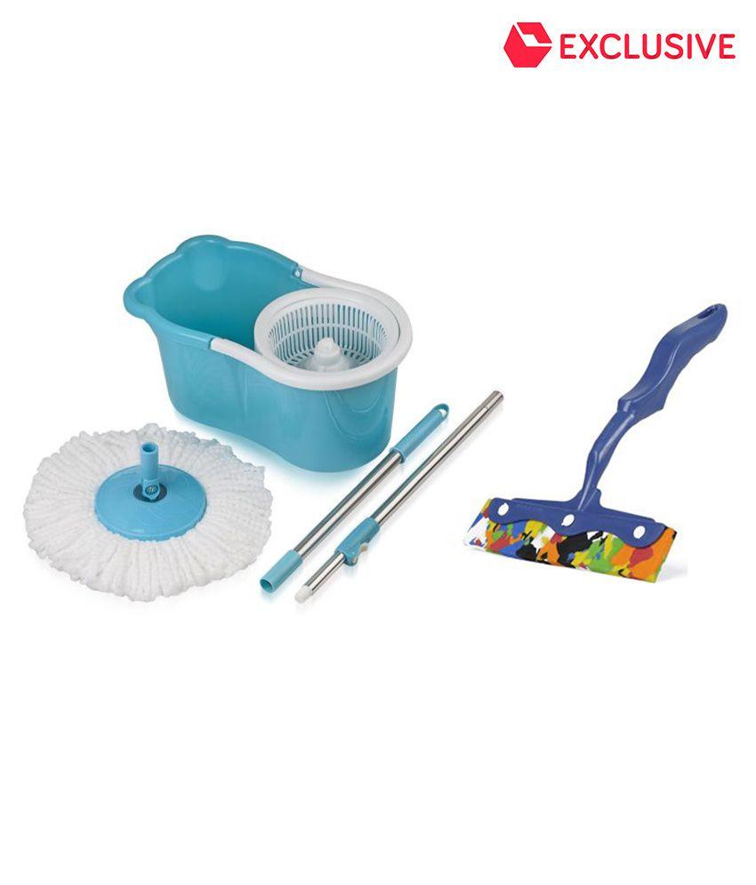 Gala Aqua Single 360 Degree Cleaning Bucket Mop With Kitchen Moppy ...