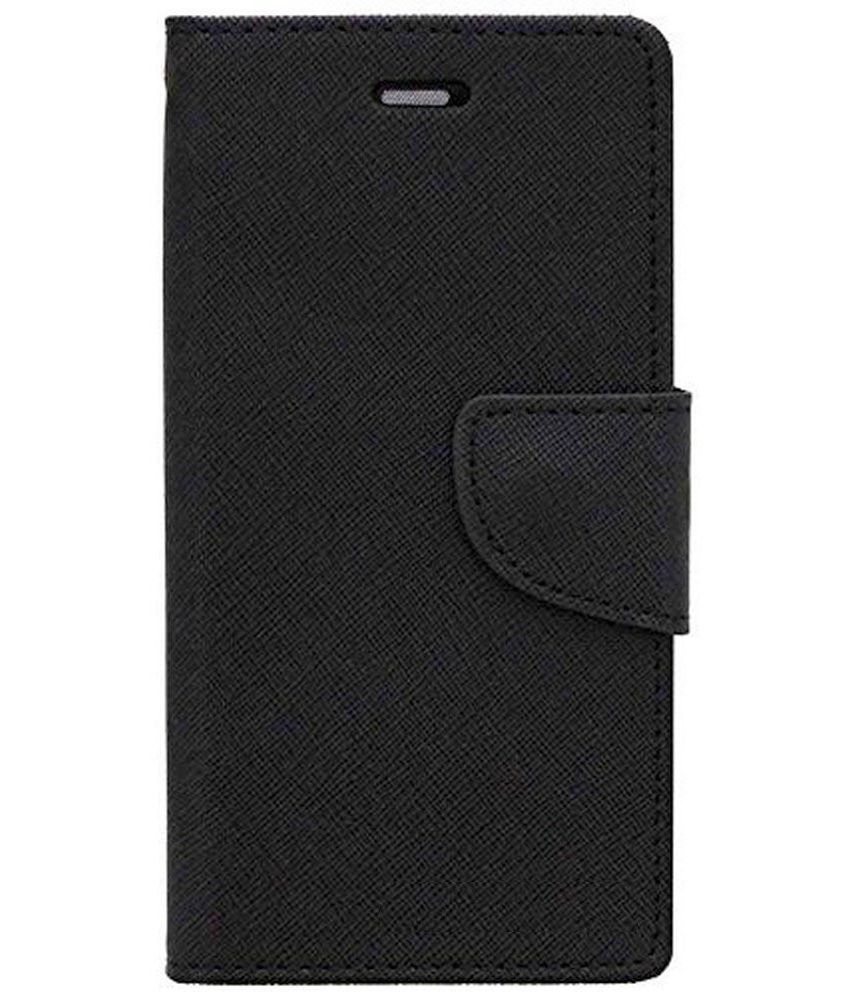 Xolo A800 Flip Cover by Zocardo   Black available at SnapDeal for Rs.466