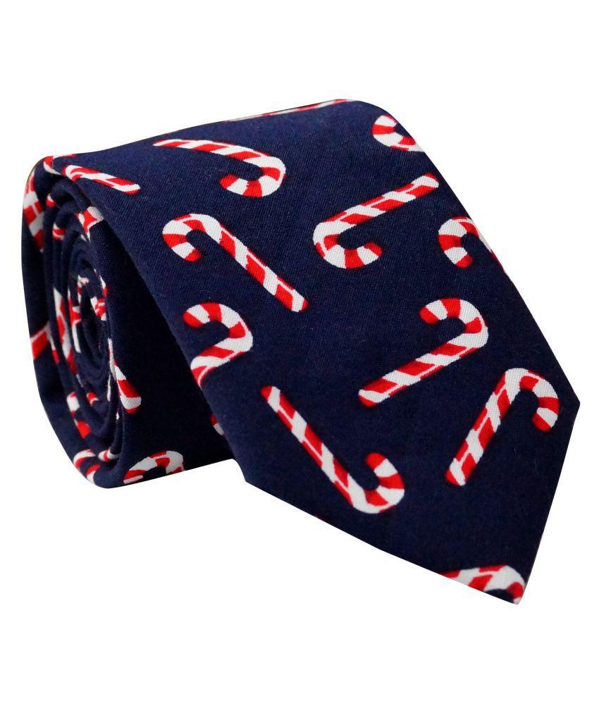 The Tie Hub Blue Casual Necktie