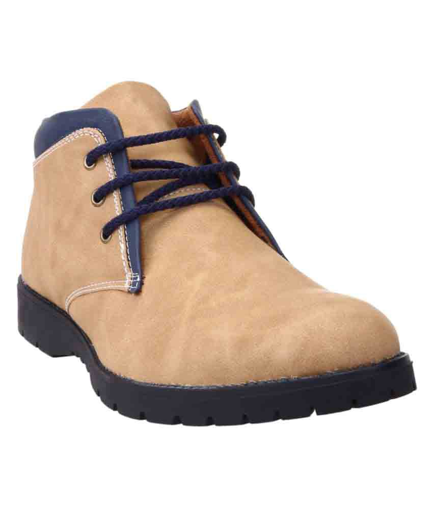Zappy Brown Casual Boot