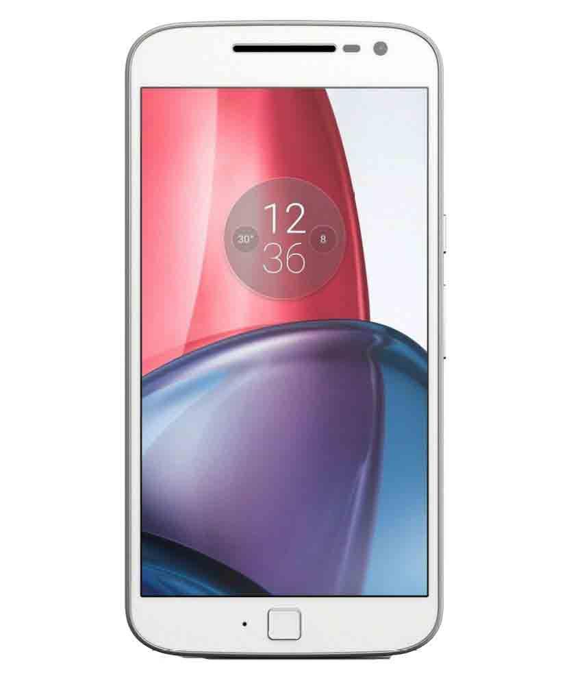 Motorola Moto G4 Plus ( 32GB , 3 GB ) White