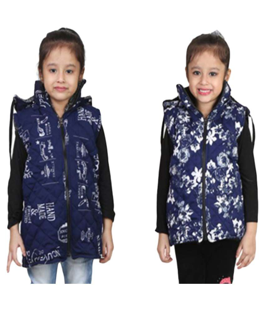 Crazeis Blue Light Weight Jacket - Pack of 2