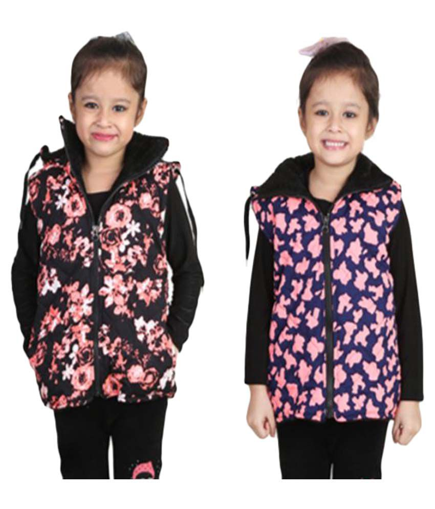 Qeboo Multicolor Jacket - Pack of 2