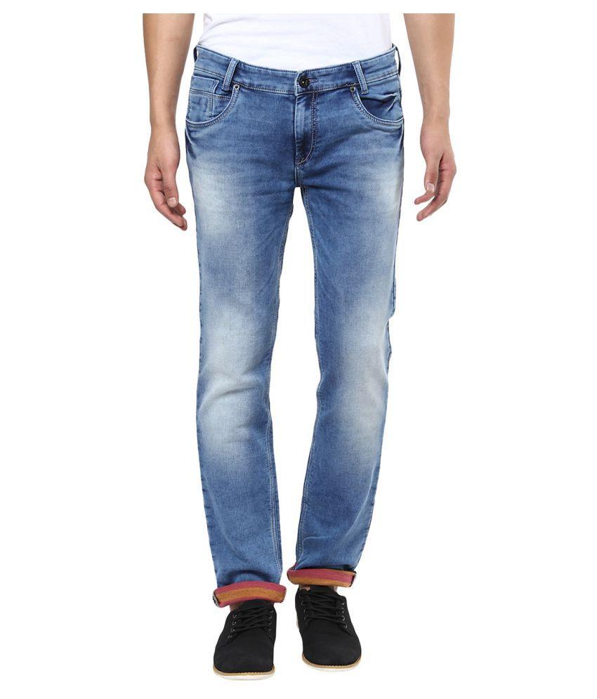 Mufti Blue Regular Fit Jeans