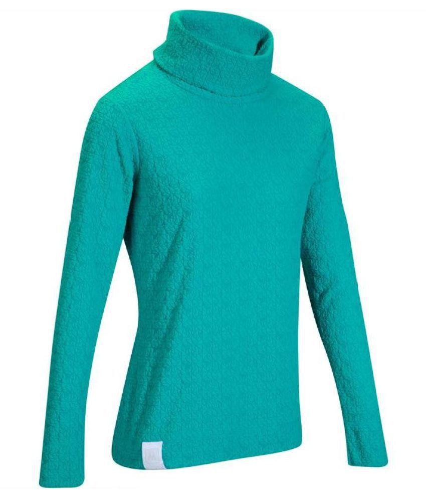 Wedze Blue Polyester Sweatshirt