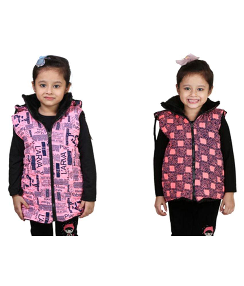 Crazies Pink Jackets – Pack of 2