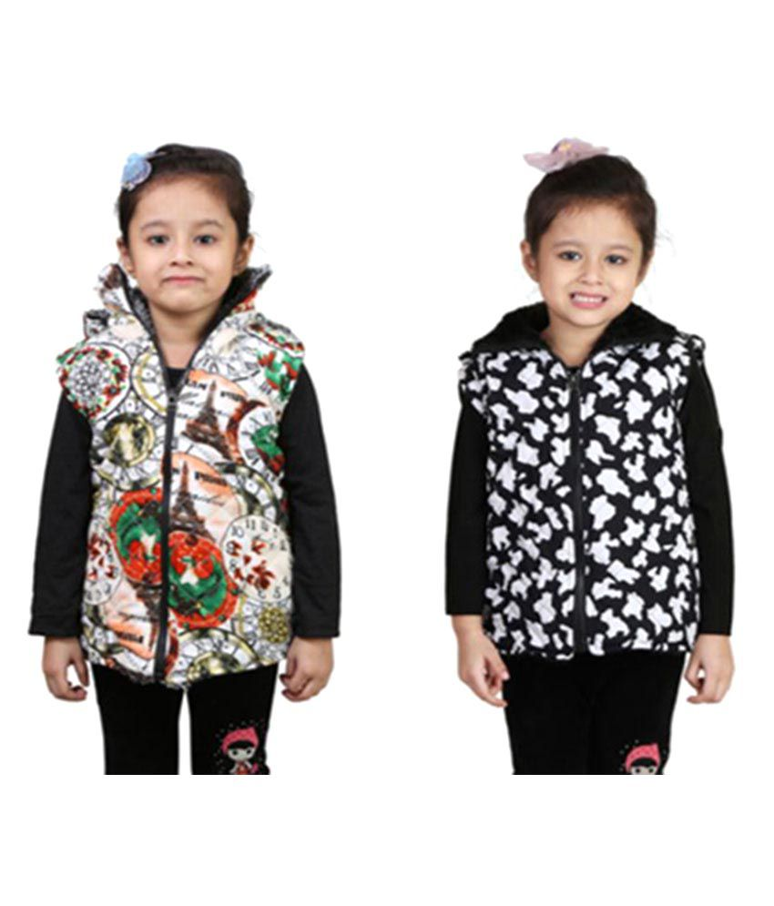 Crazies Multicolor Jackets – Pack of 2
