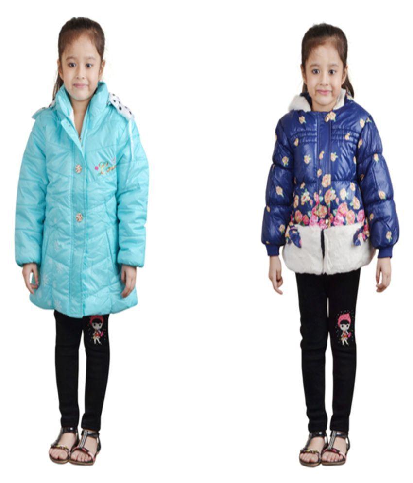 Crazeis Multicolor Nylon Jacket Set of 2