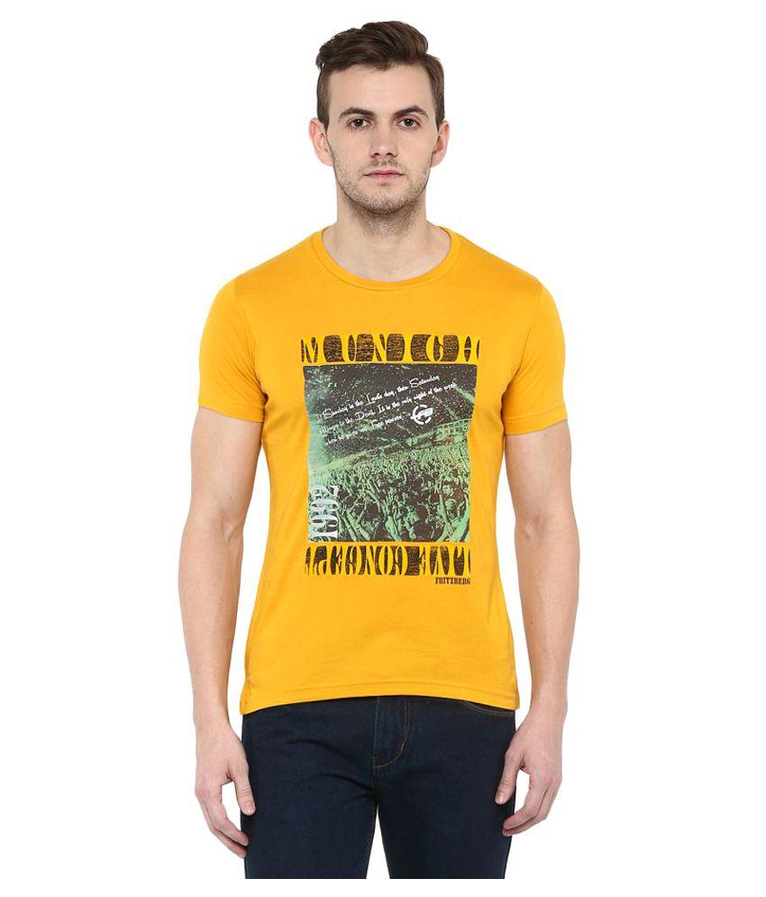 Fritzberg Yellow Round T-Shirt