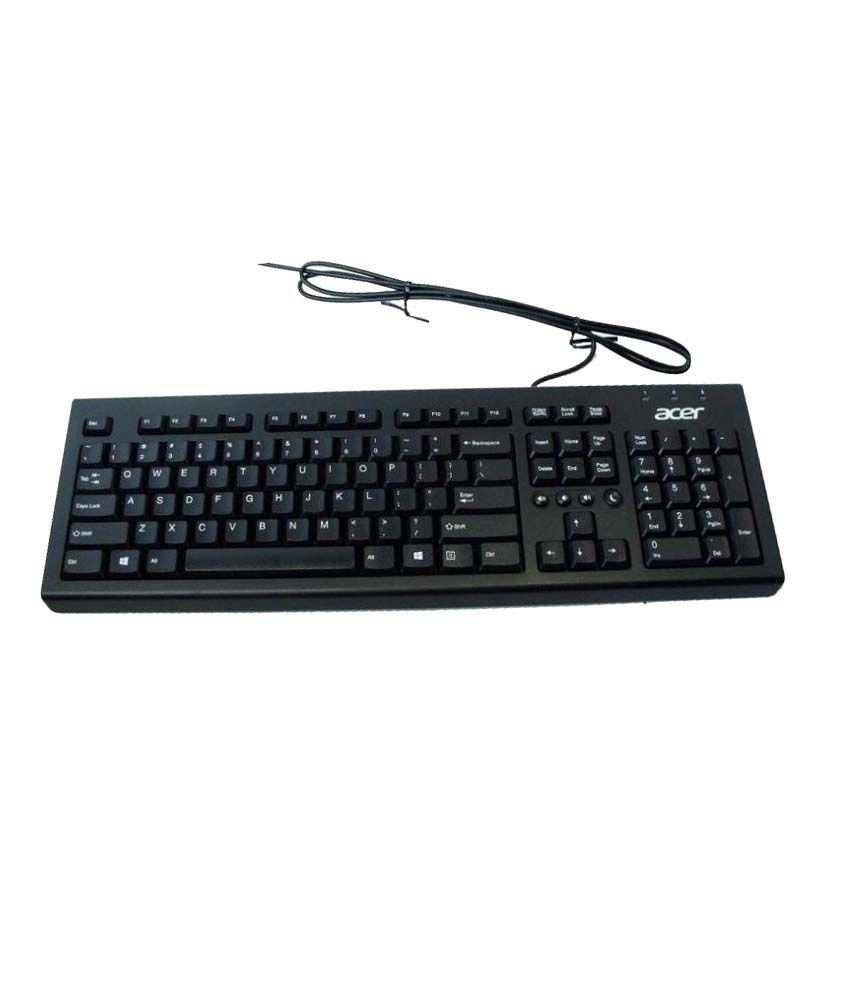Acer DKPS21P03L Black PS/2 Desktop Keyboard