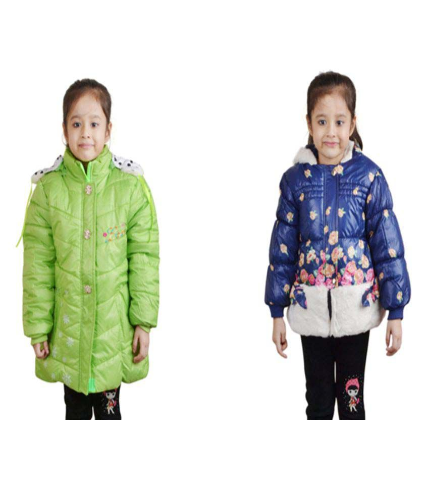 Crazeis Multicolour Quilted & Bomber Jackets - Pack of 2