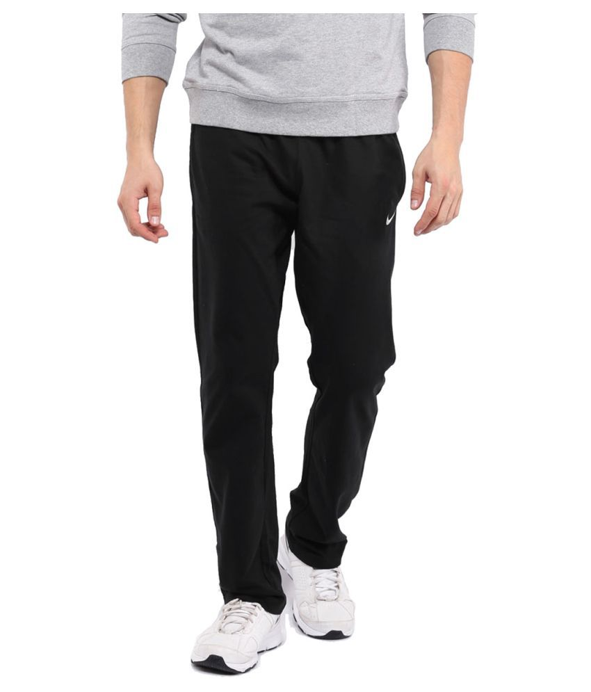 uk availability 14437 bf4ce Nike Men s Track Pant - Black  Buy Online at Best Price on Snapdeal