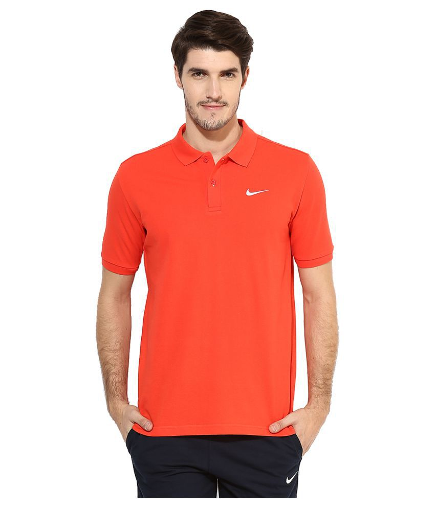 Nike Polo Men's T-Shirt - Orange