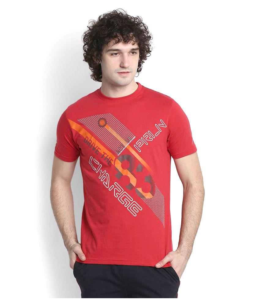 Proline Red Cotton T Shirt
