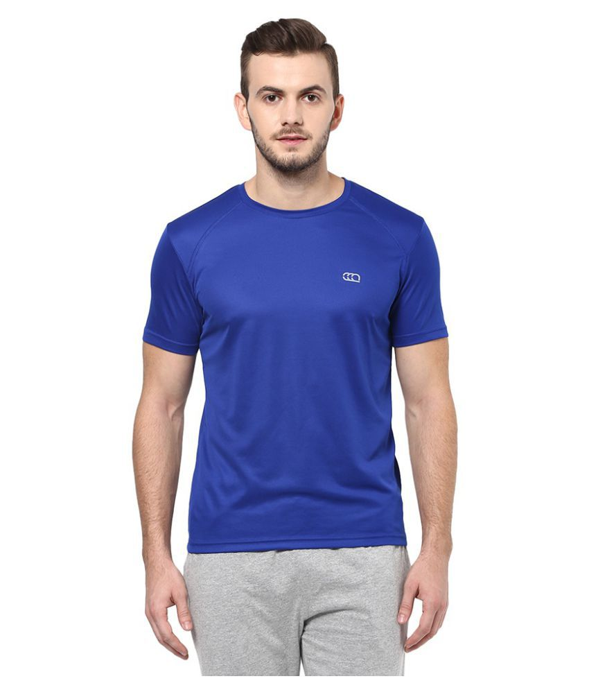 Ajile By Pantaloons Blue Round T-Shirt