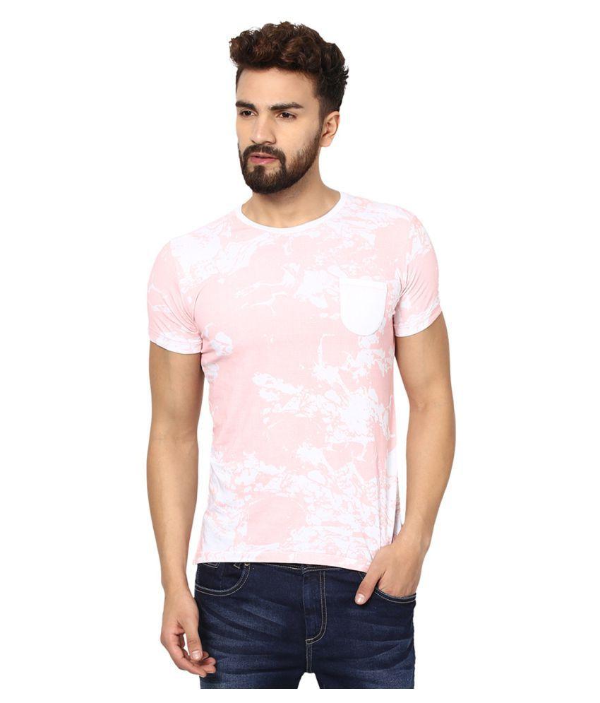 Mufti Pink Round T-Shirt
