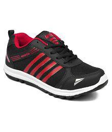 Asian Wonder-13 Black Shoes For Boys