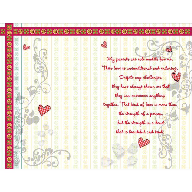 alwaysgift wedding anniversary mom dad greeting card buy online rh snapdeal com