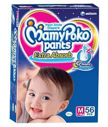 Mamy Poko Pants Diaper M 56 Pcs