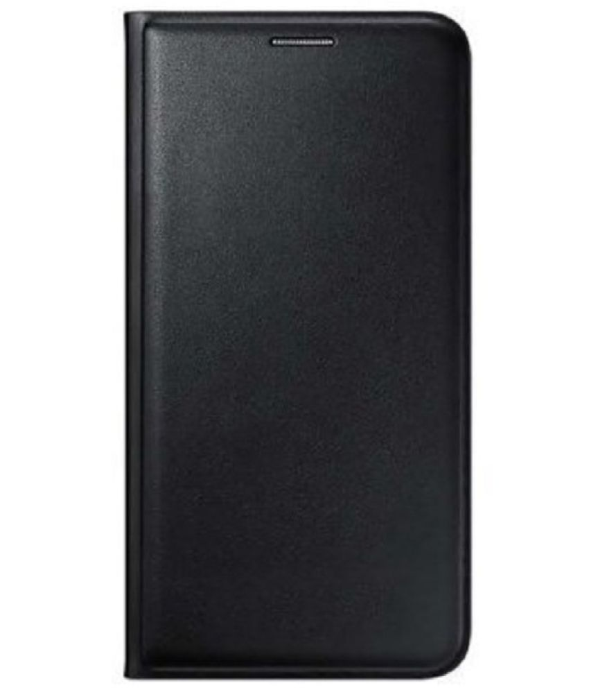 Lenovo A6600 Flip Cover by G-MOS - Black