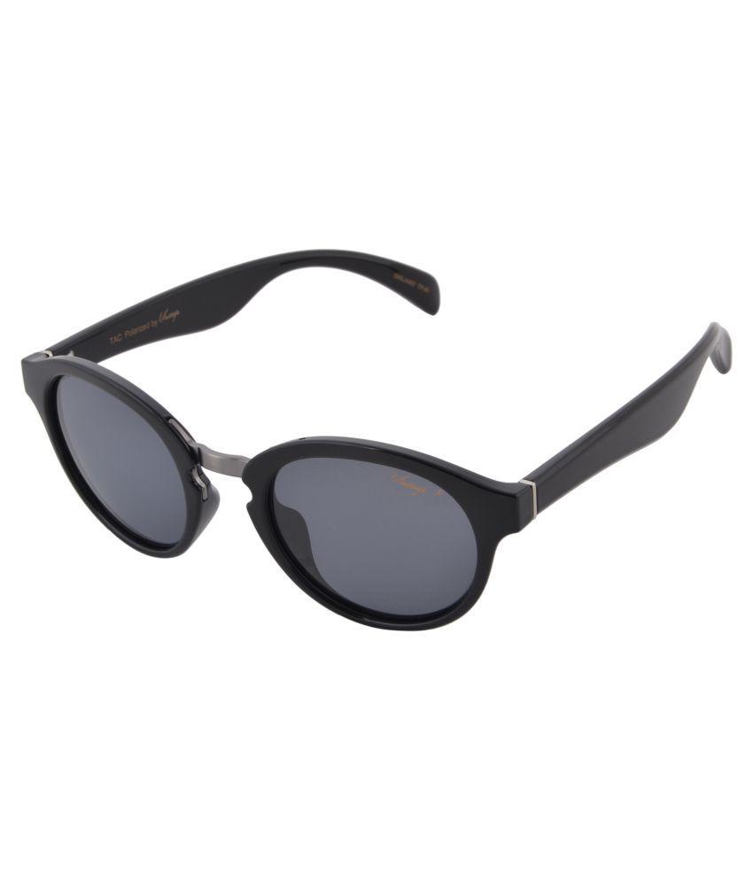 Vintage Blue Oval Sunglasses ( Sacrifice )