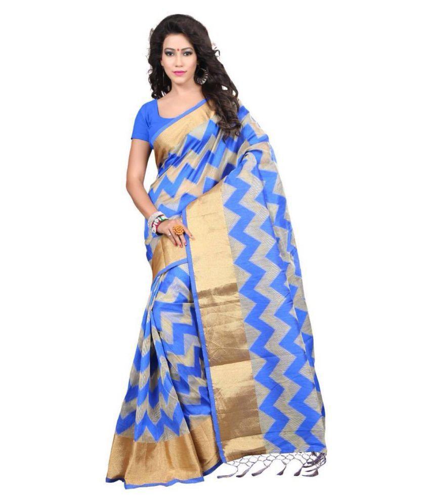Maroosh Multicoloured Silk Blends Saree