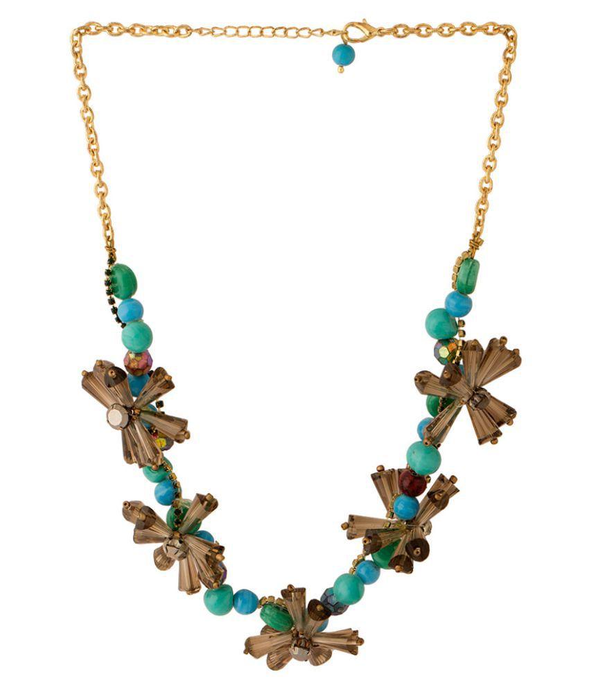 Voylla Multicolour Alloy Necklace