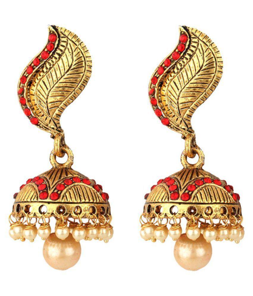 Jewels Capital Multicolour Alloy Earrings