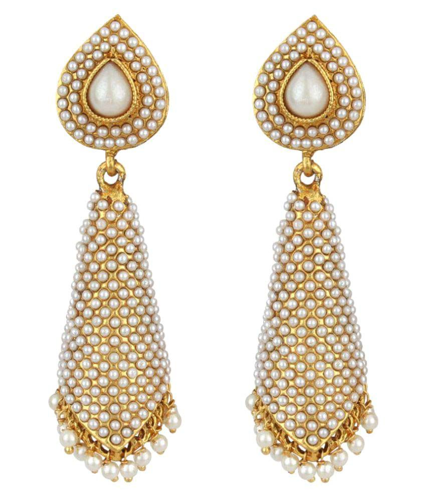 Jewels Guru Exclusive Multicolour Earrings