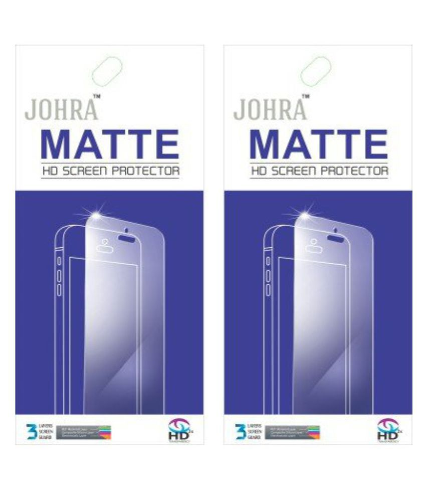 Johra Pack of 2 Matte HD Screen Scratch Protector for Xiaomi Redmi Note 3