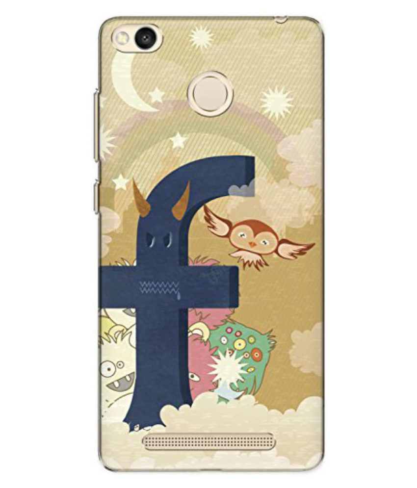 The Racoon Lean printed designer hard back mobile phone case cover for Xiaomi Redmi 3S Prime / Xiaomi Redmi 3 Pro. (Social Mon)