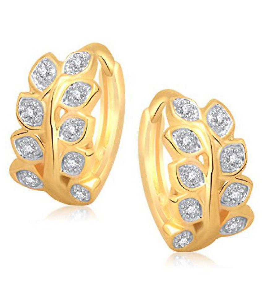 Meenaz Bali Earrings Fancy Gold Plated Earring For Women B134