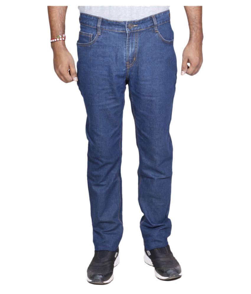 IndiWeaves Blue Regular Fit Jeans