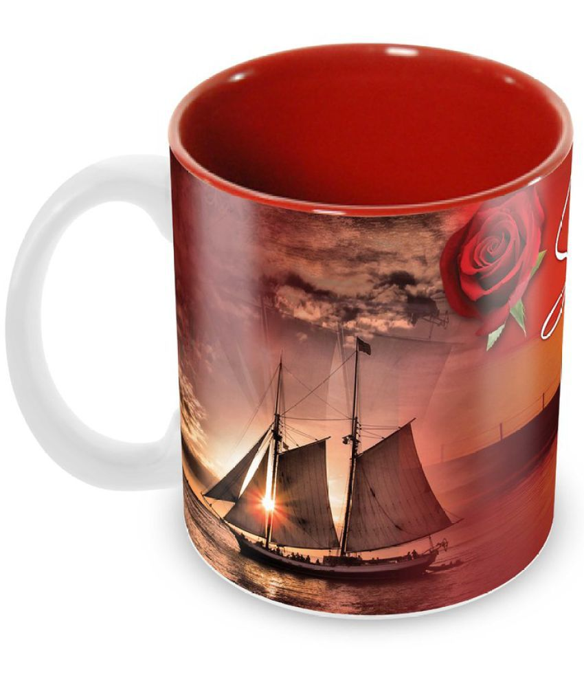 Red Hot Gifts And More Ceramic Coffee Mug 1 Pcs 350 ml