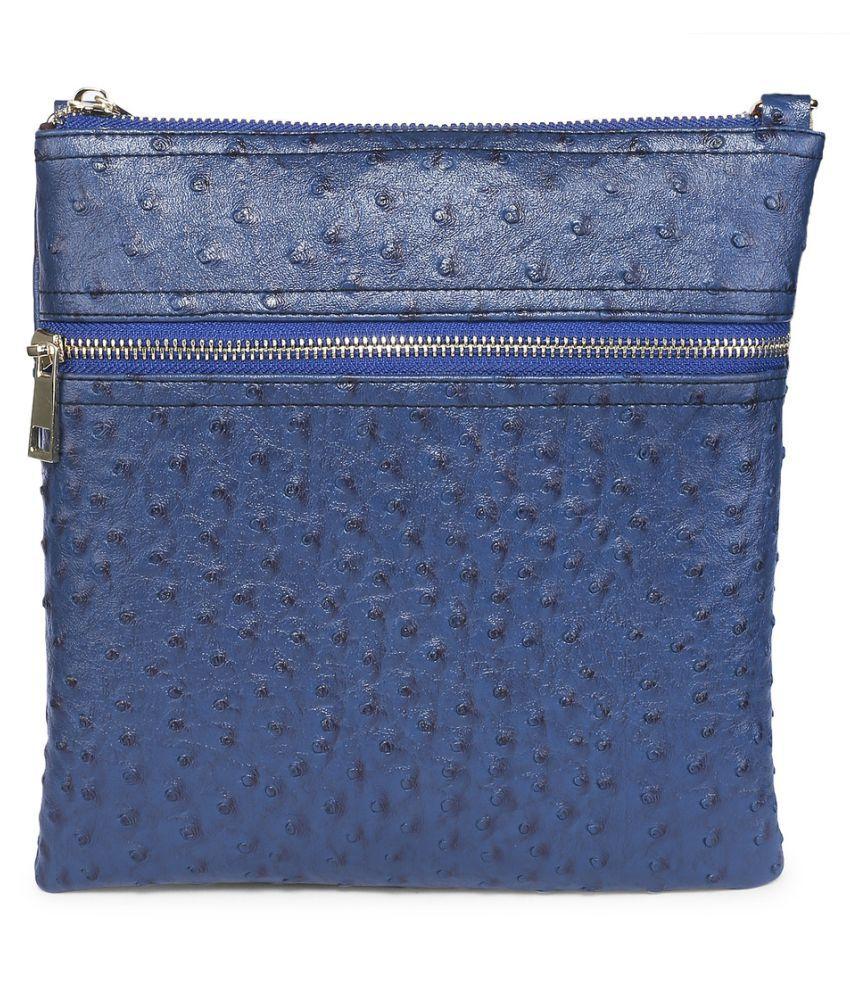 db032c5cc0 Scoop Street Blue Sling Bag - Buy Scoop Street Blue Sling Bag Online ...
