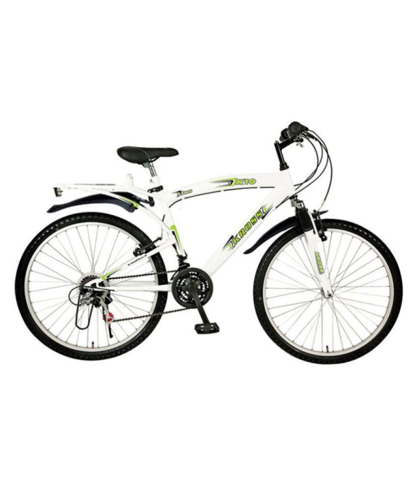 a72beb790e2 Kross K10 66.04 cm(26) 18 Speed Gear Cycle Mountain bike Bicycle Adult  Bicycle/Man/Men/Women: Buy Online at Best Price on Snapdeal
