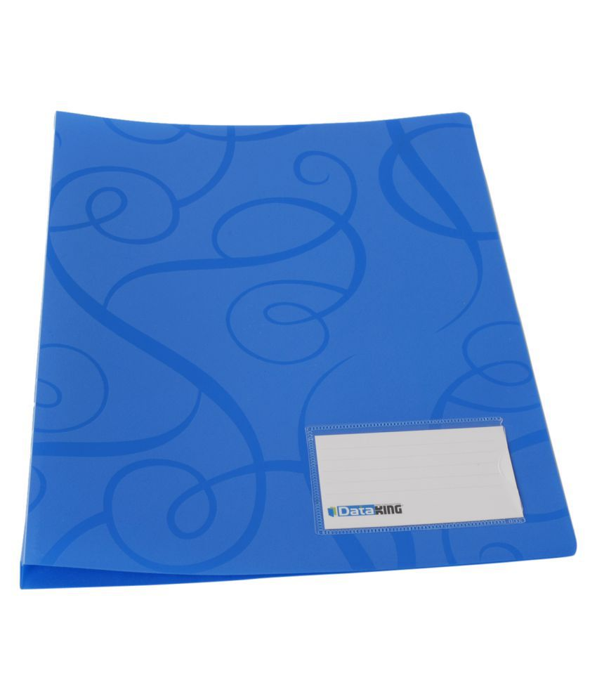Dataking Blue Report Files - Set of 6